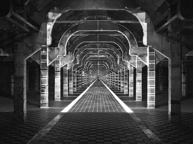 Patterns in architecture space time and perception for Space architecture