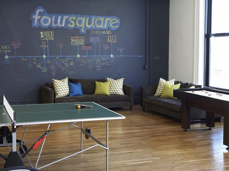 U0027Check Inu0027 At New York: This Time In The Foursquare Offices