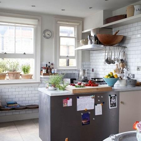 piastrelle cucina bianche