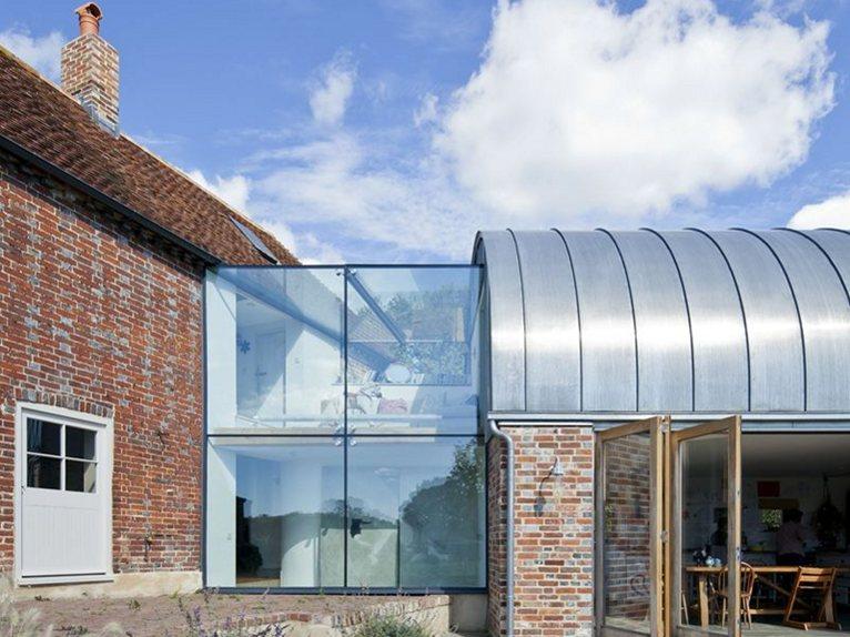 Hawthbush Extension Of An English Farmhouse By Mole Architects