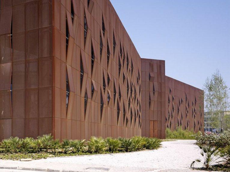 Raif Dinckok Cultural Center Shades Of Corten Steel