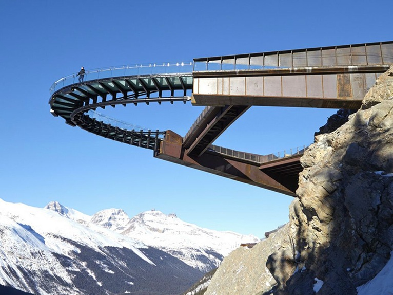 The Controversial Glacier Skywalk Opens In The Canadian Rockies