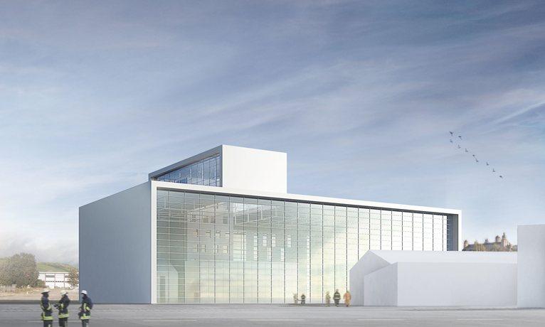 Gmp architekten will build the new state fire brigade for Design hotel wurzburg