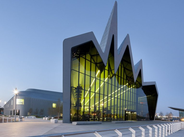 riverside museum by zaha hadid wins european museum of the year 2013. Black Bedroom Furniture Sets. Home Design Ideas