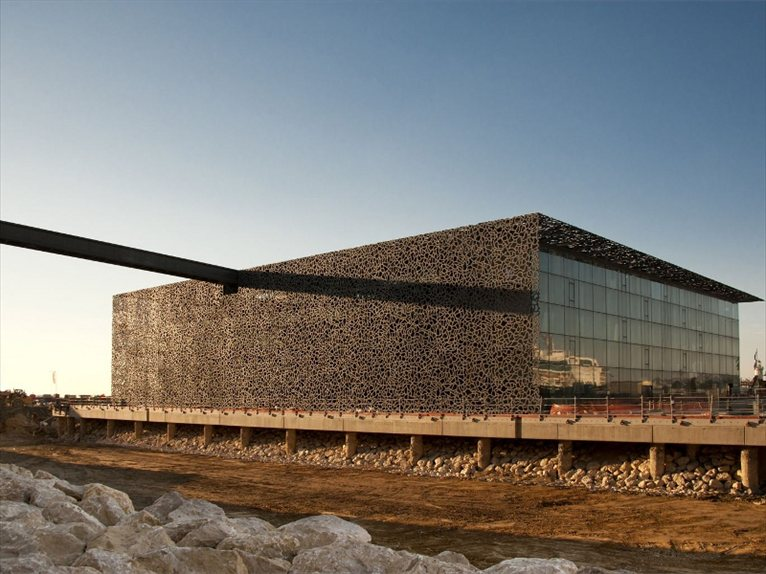 Marseille The New Mucem Designed By Rudy Ricciotti