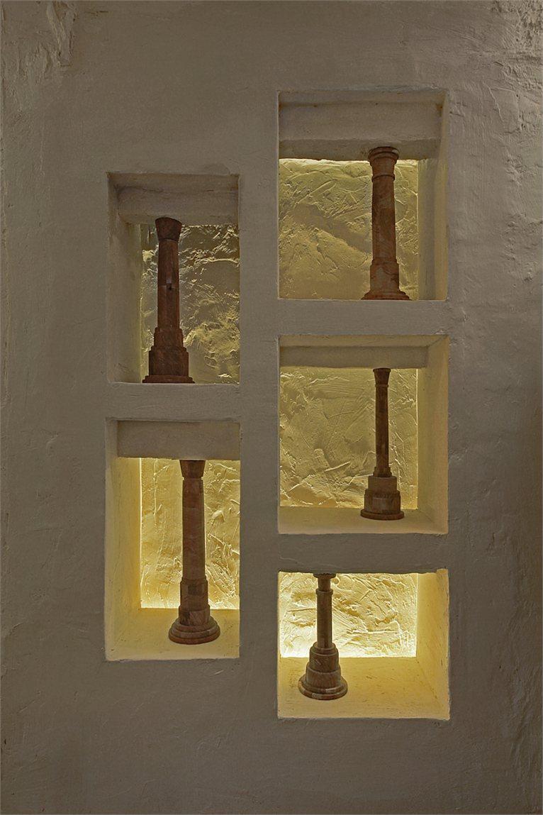 Michele de lucchi colonne portanti for Nicchie nel muro idee