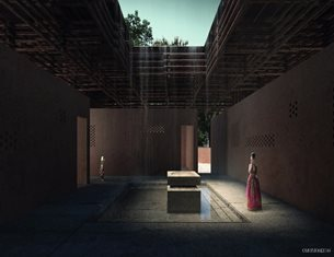 Winning projects of Kaira Looro Competition for a Cultural Center in Senegal