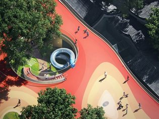 "MAD unveils its design for ""Courtyard Kindergarten"""