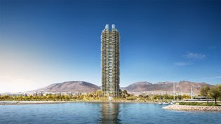 Marina Tower by Foster + Partners: the first green high-rise building in Greece revealed