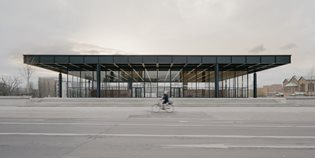 Neue Nationalgalerie refurbishment by David Chipperfield Architects is now complete