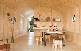 The Cardboard Tiny House Designed to Last 50 Years