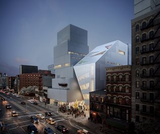 First Look at The New Museum's Expansion by OMA