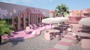 A super Instagrammable pink oasis opens in Amsterdam