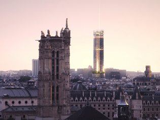 Nouvelle AOM wins international competition to redesign Montparnasse Tower in Paris