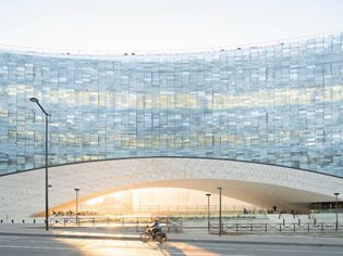 Snøhetta-designed HQ for the Le Monde Group opened in Paris