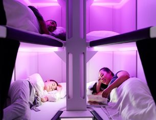 Air New Zealand to put economy travellers to sleep