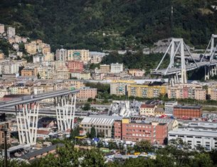 Renzo Piano offers new Bridge Design for Genoa