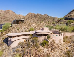 Frank Lloyd Wright's Circular Sun House is now up for sale