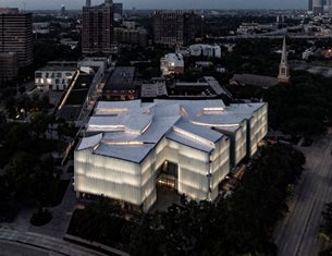 The Museum of Fine Arts Houston's Nancy and Rich Kinder Building by Steven Holl opens to the public