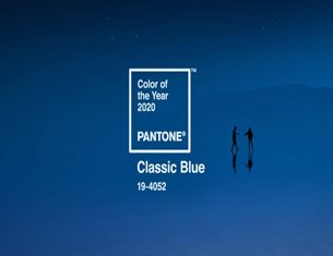 It instills calm, confidence and connection: is the Pantone Color of the Year 2020!