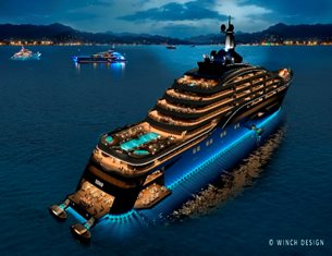 The Largest Superyacht in the World unveiled